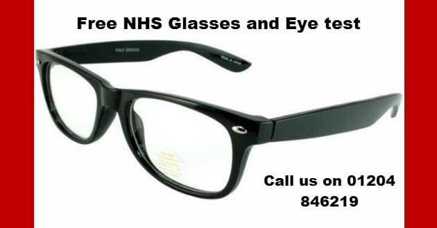 Free NHS Glasses